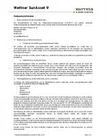 Datenschutzhinweise Wattner 9