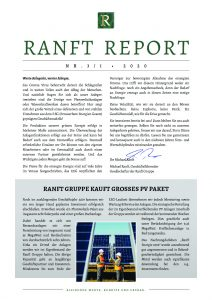 thumbnail of Ranft Report Nr.3