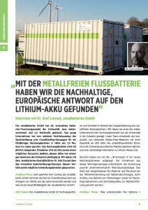 thumbnail of Interview mit Dr. Conrad von JenaBatteries